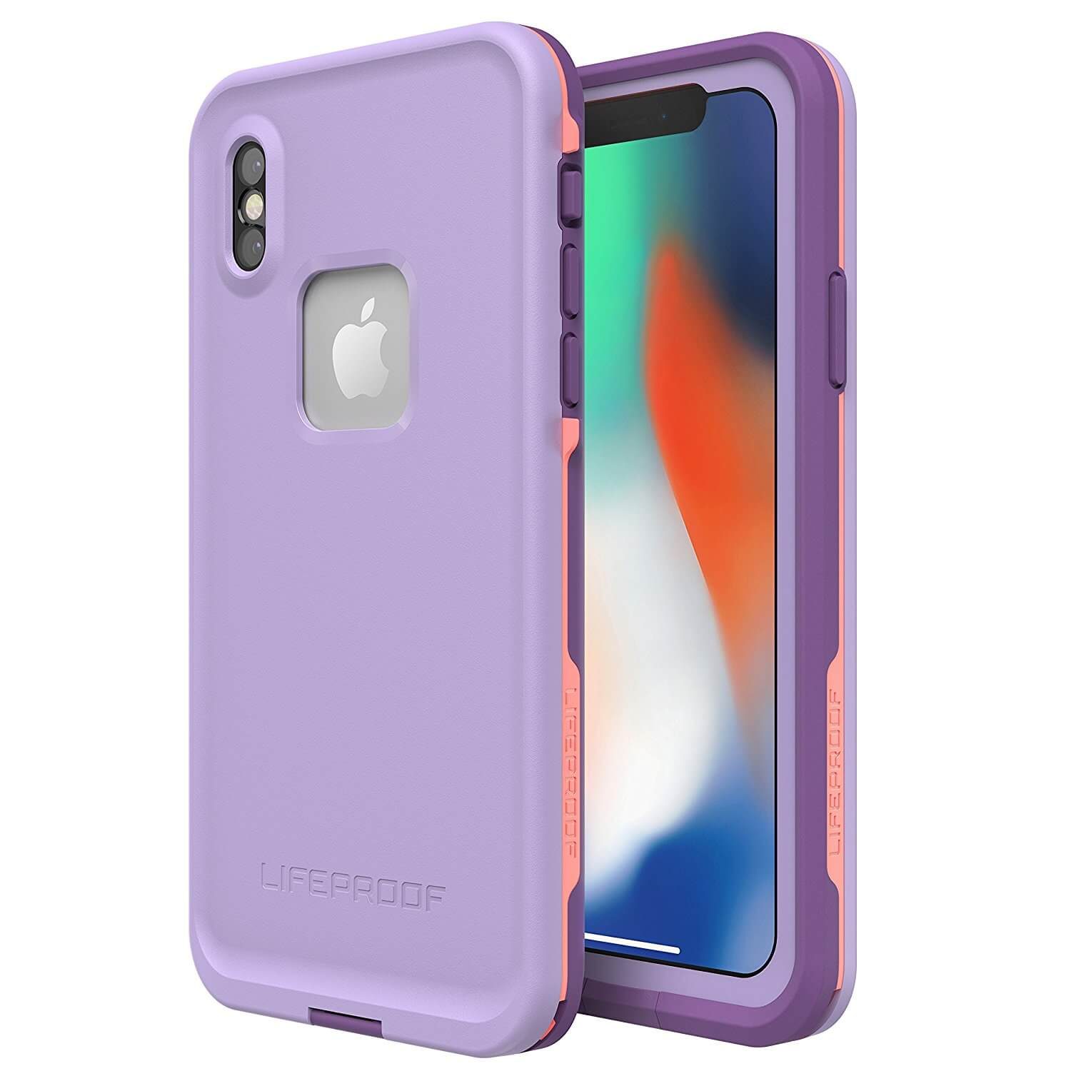 LifeProof Fre case for iPhone XS, iPhone X (chakra)