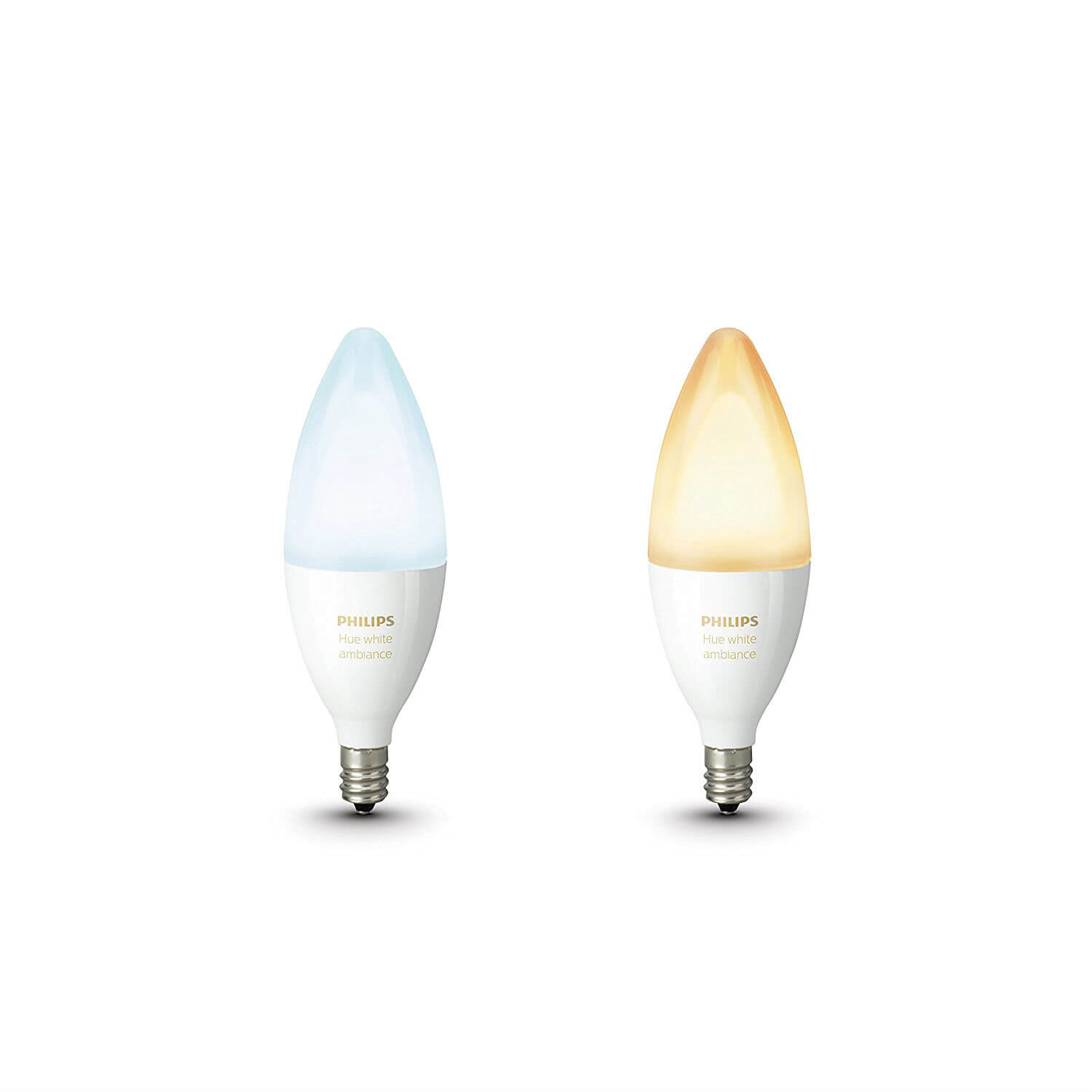 Philips Hue White Ambiance 6W E14 - 2 Pack