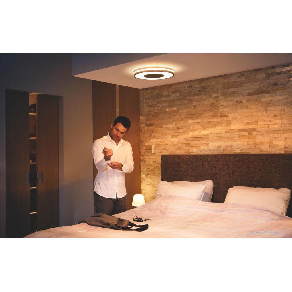 Philips Being Hue Ceiling Lamp Black 1x32W 6