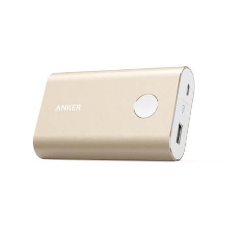 Anker PowerCore+ 10050 mAh Qualcomm Quick Charge 2.0 with PowerIQ (gold)