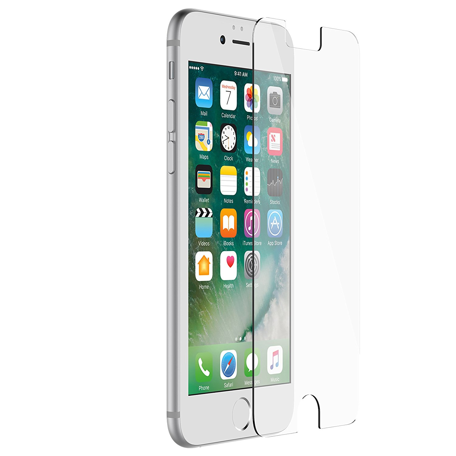 Otterbox Alpha Glass for iPhone 8, iPhone 7, iPhone 6S, iPhone 6 (clear)