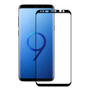 Eiger 3D Glass Case Friendly Curved Tempered Glass for Samsung Galaxy S9 (black-clear)
