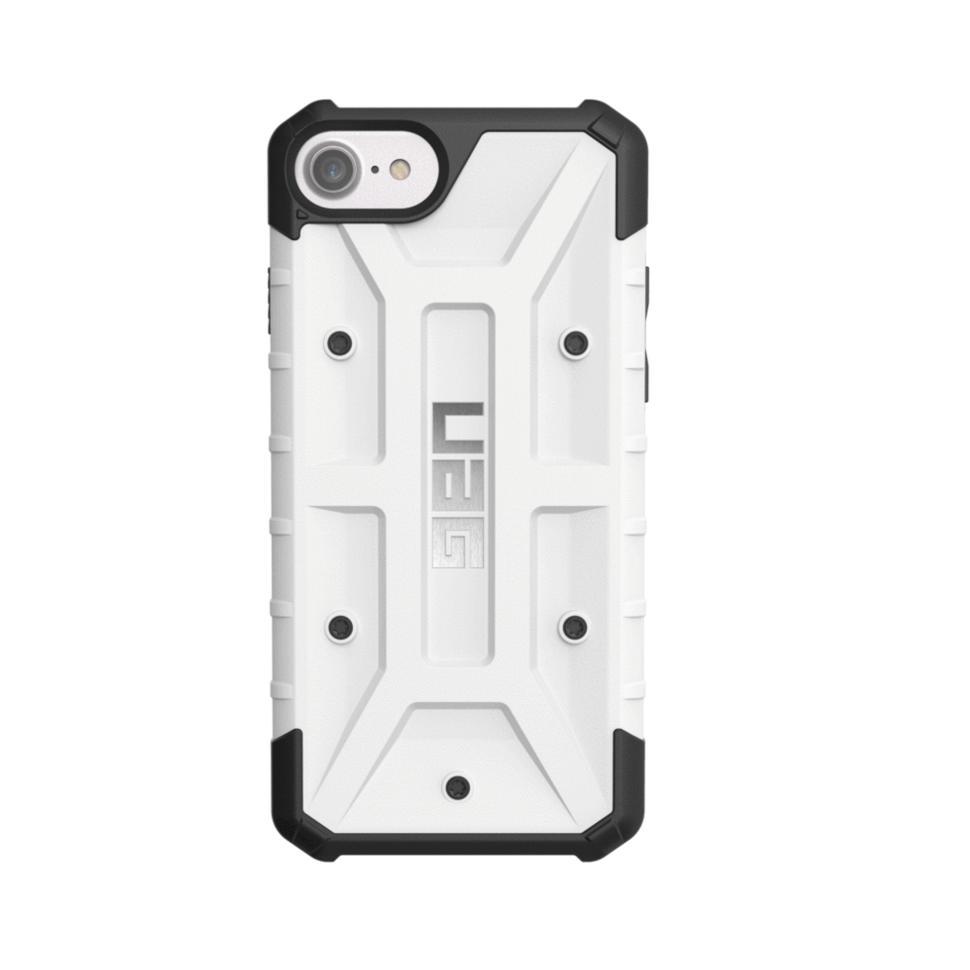 Urban Armor Gear Pathfinder - удароустойчив хибриден кейс за iPhone 8, iPhone 7, iPhone 6S, iPhone 6 (бял)