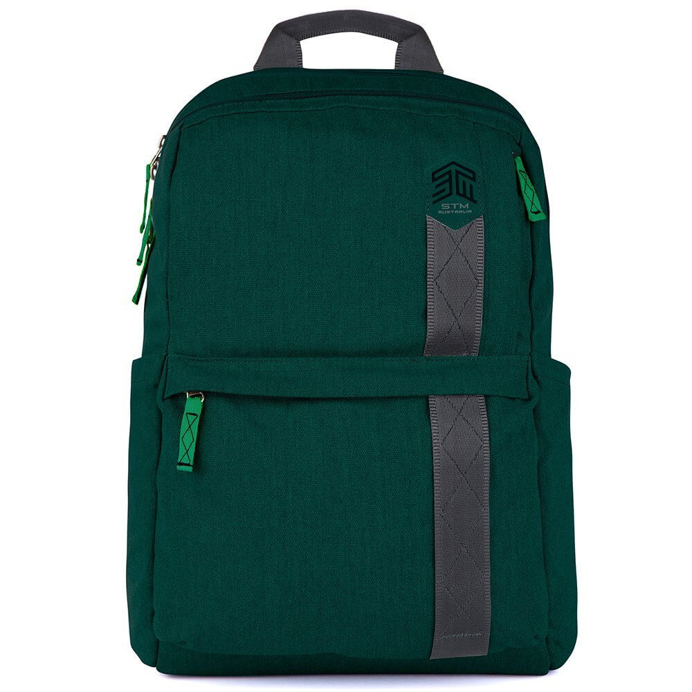 STM Trilogy Backpack For Laptops Up To 15-Inch - green
