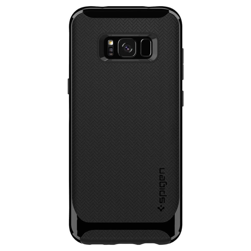 on sale f23a7 b7224 Spigen Neo Hybrid Case - хибриден кейс с висока степен на защита за Samsung  Galaxy S8 (черен-лъскав)