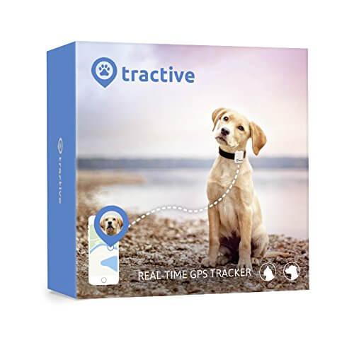Tractive GPS Tracker - персонален GPS тракер за домашни любимци (бял)