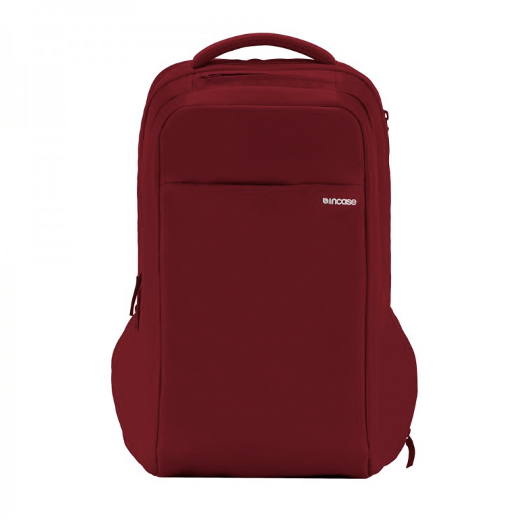 Incase ICON Backpack - елегантна и стилна раница за MacBook Pro 15 и лаптопи до 15 инча (червен)