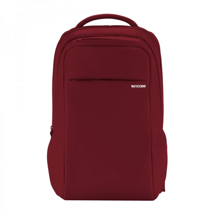 Incase ICON Slim Backpack - елегантна и стилна раница за MacBook Pro 15 и лаптопи до 15 инча (червен)
