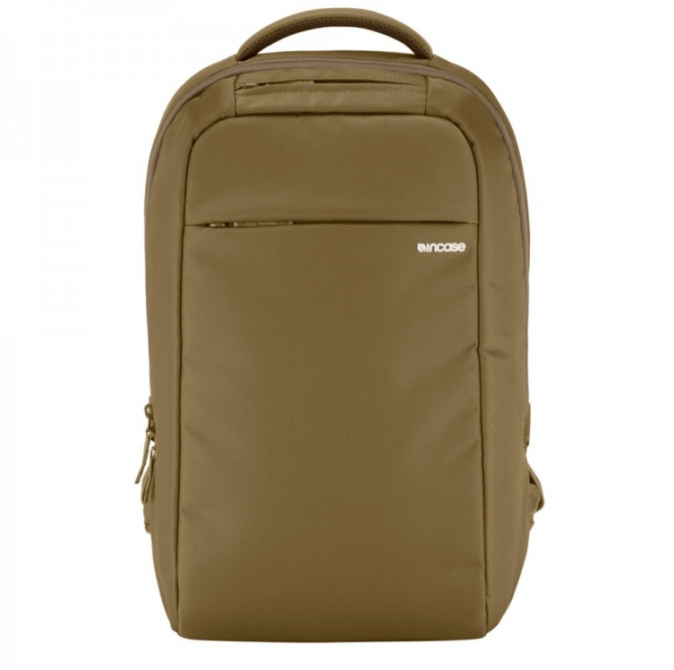 Incase ICON Lite Backpack - елегантна и стилна раница за MacBook Pro 15 и лаптопи до 15 инча (кафяв)