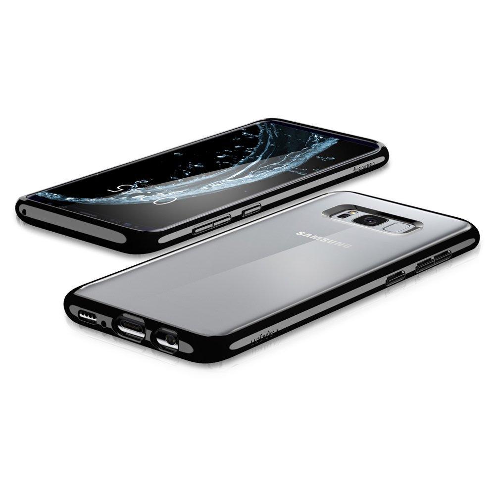 premium selection 86c13 e74c6 Spigen Ultra Hybrid Case - хибриден кейс с висока степен на защита за  Samsung Galaxy S8 (прозрачен)
