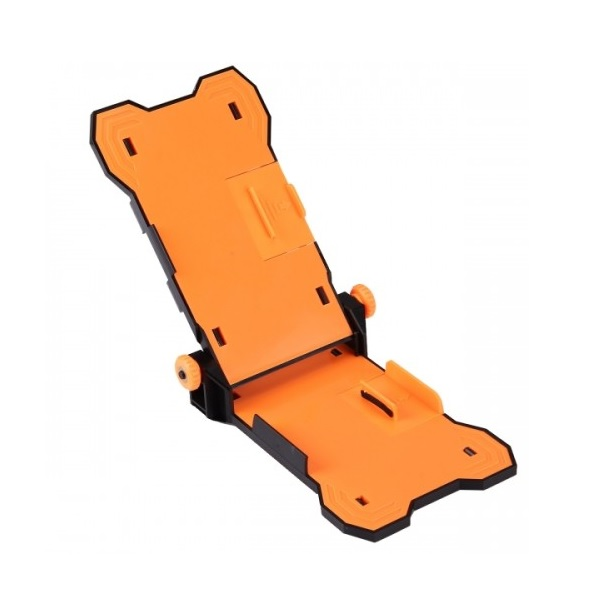 Jakemy JM-Z13 Repair Holder for smartphones up to 5.5 inches (black-orange)