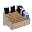 Multifunctional Mobile Phone Repair Tool Box Wooden Storage Box (48 slots)