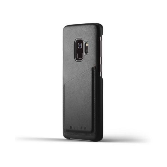 Mujjo Leather Wallet Case for Samsung Galaxy S9 (black)
