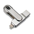 Platinet iOS Pendrive USB 3.0 16GB Lightning - външна памет за iPhone, iPad, iPod с Lightning (16GB)