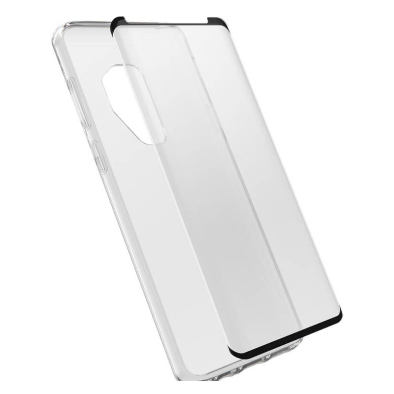 premium selection 007df 60464 Otterbox Clearly Protected Skin With Alpha Glass - тънък силиконов кейс и  стъклено защитно покритие за ...
