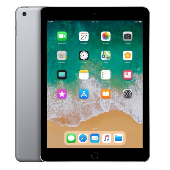Apple iPad 6 (2018) Wi-Fi + Cellular, 128GB, 9.7 инчa (сив)
