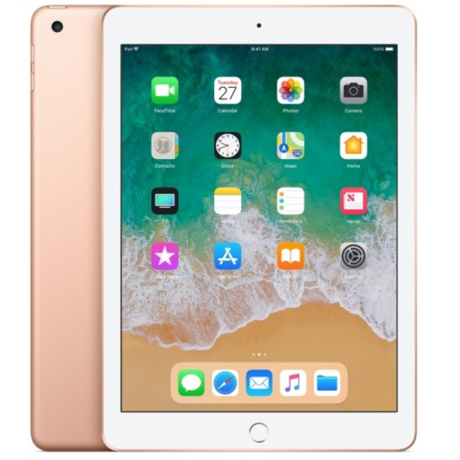 Apple iPad 6 (2018) Wi-Fi 128GB, 9.7 инча (златист)