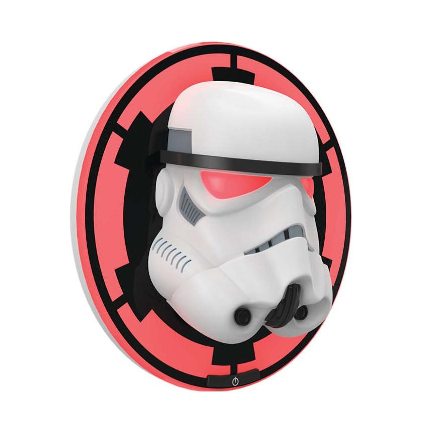 Philips Lamp Wall Disney Stormtrooper - стенна лампа с червена светлина (бял)