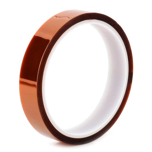 High-Temperature Resistant Tape 15мм x 30м - професионална изолационна лента (тиксо) за батерии и др. компоненти