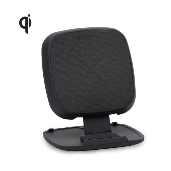 Zens x Knomo Stage Power Pad 10W KNSC06B/00 - док станция и поставка за безжично зареждане на Qi съвместими устройства (черен)
