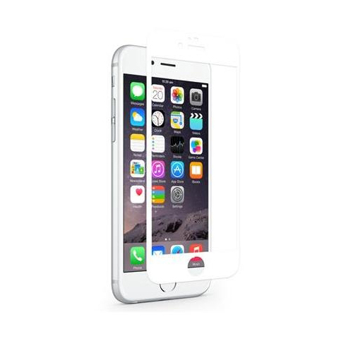 eStuff Tempered Glass 2.5D Full Cover for iPhone 8, iPhone 7, iPhone 6S
