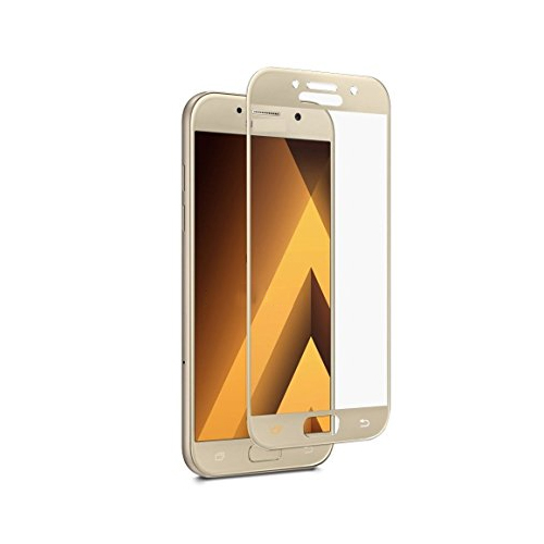 eStuff Tempered Glass 2.5D Full Cover for Samsung Galaxy A3 (2017) (gold)