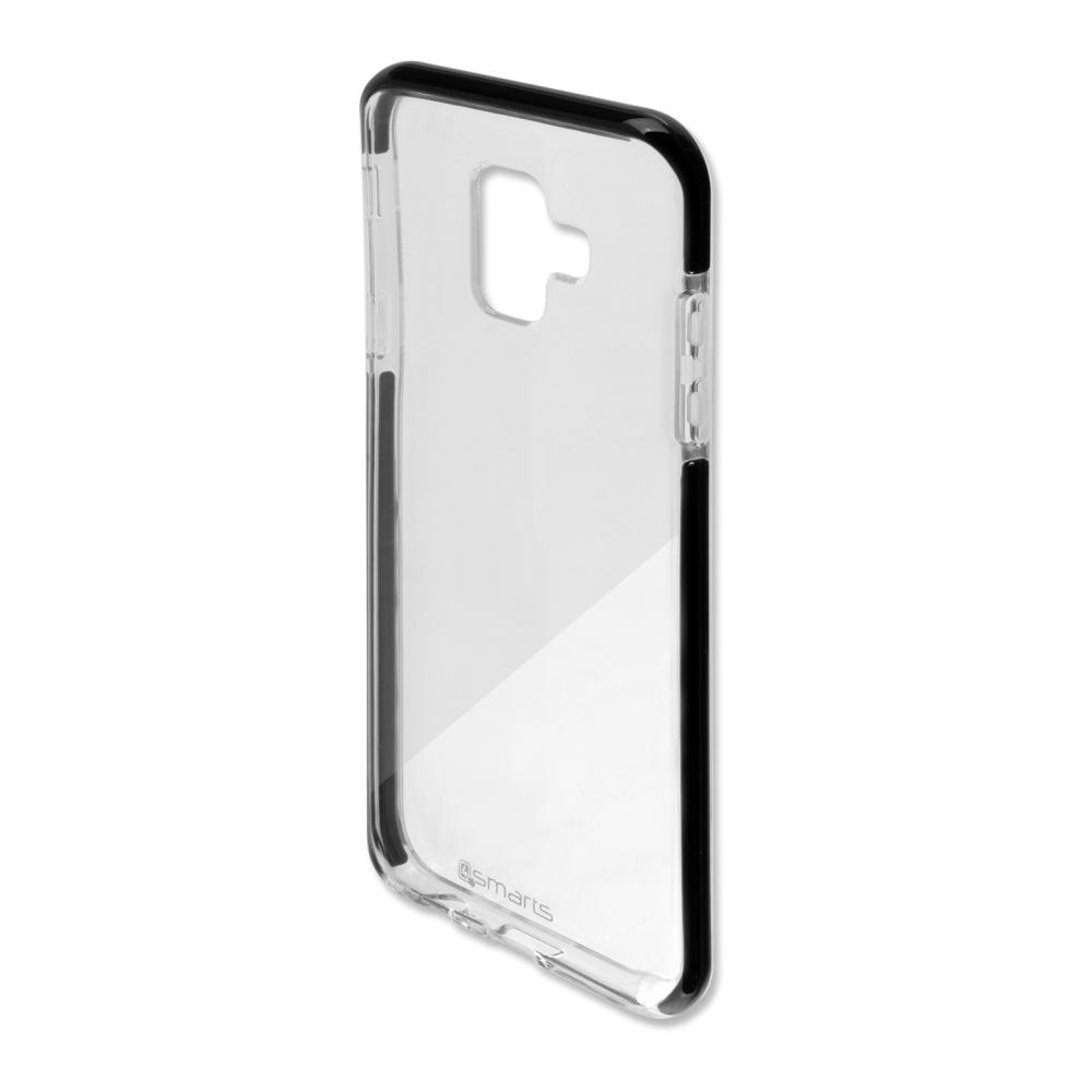 4smarts Soft Cover Airy Shield for Samsung Galaxy A6 (2018) (black-transparent)