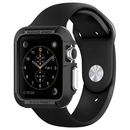 Spigen Rugged Armor Case - удароустойчив TPU кейс за Apple Watch 38mm. (черен)