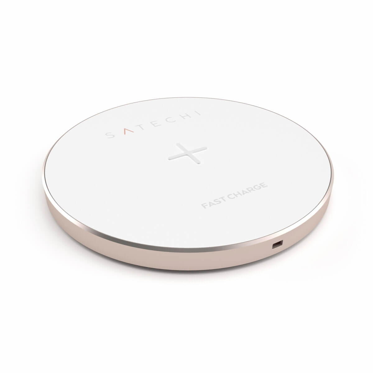Satechi Wireless Charging Pad Fast Charge (rose gold)