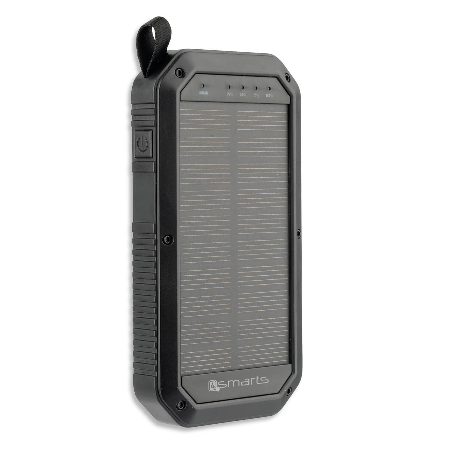 4smarts Solar Power Bank TitanPack 8000mAh (black)