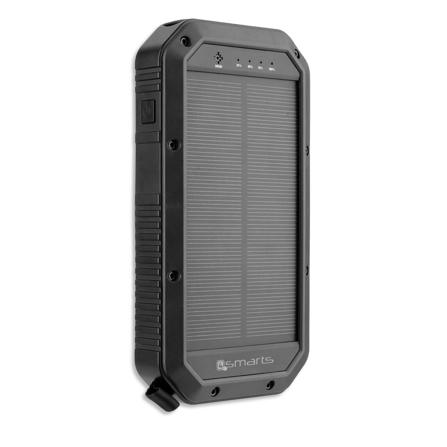 4smarts Solar Wireless Qi Power Bank TitanPack 20,000mAh (black)
