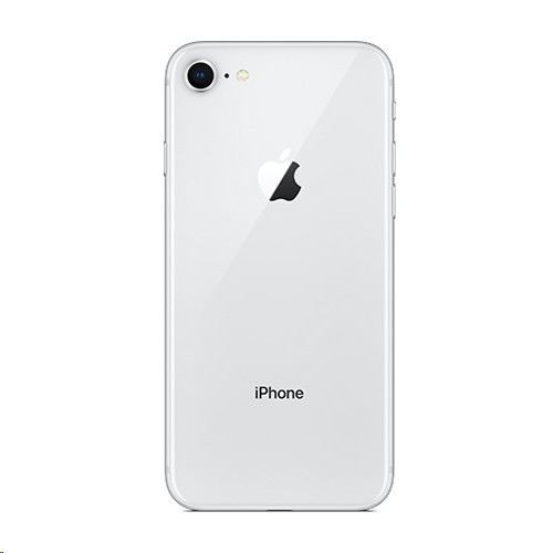Apple iPhone 8 Backcover (silver)