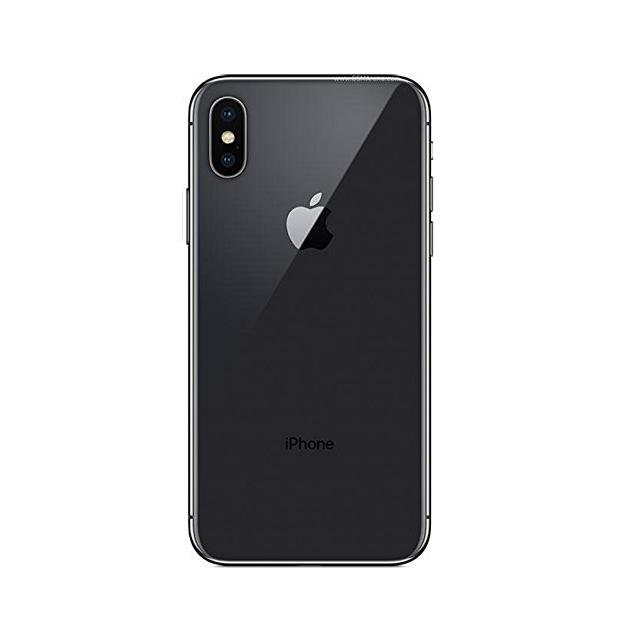 Apple iPhone X Genuine Backcover (space gray)