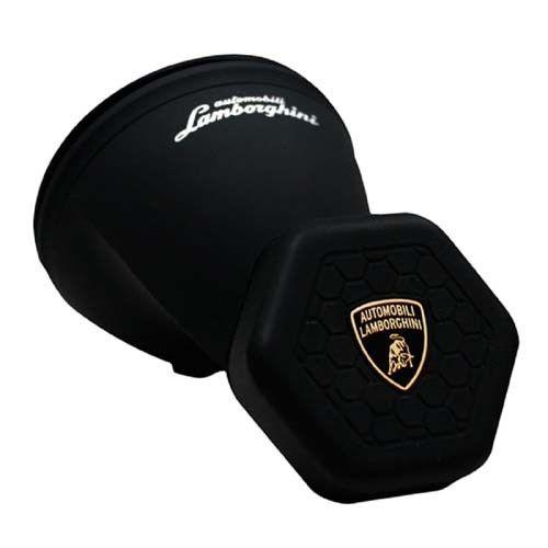 Lamborghini Car Phone Holder - магнитна поставка за стъклото на кола за смартфони (черен)