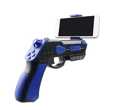 Omega Remote Augmented Reality Gun Blaster (blue)