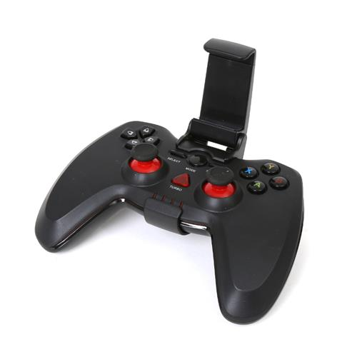 Omega Gamepad Sandpiper OTG for Android with Clip - кабелен геймпад за PS3, PC и Adroid устройства (черен)