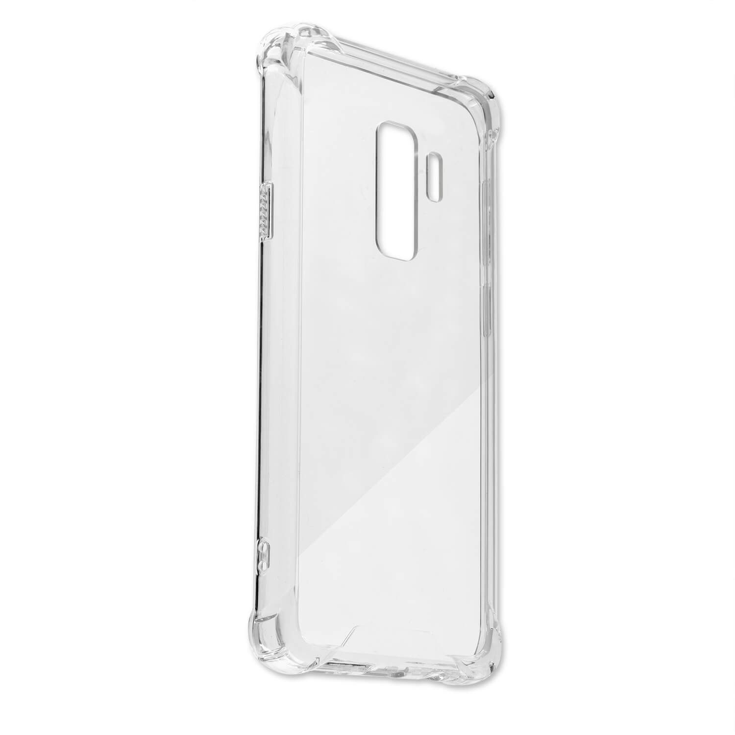 4smarts TPU Hard Cover Case - хибриден кейс за Samusng Galaxy S9 Plus (прозрачен)