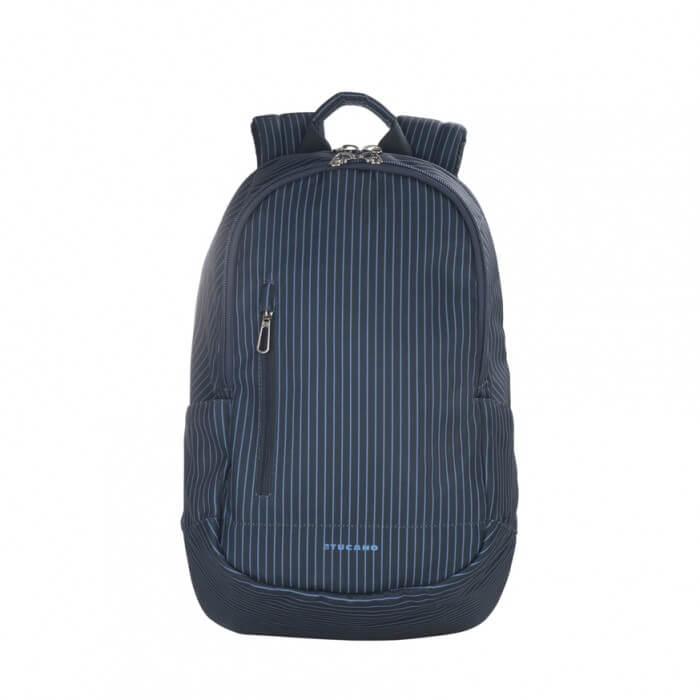 Tucano Magnum Gessato Backpack - стилна раница за MacBook Pro 15 и лаптопи до 15.6 ин. (син)