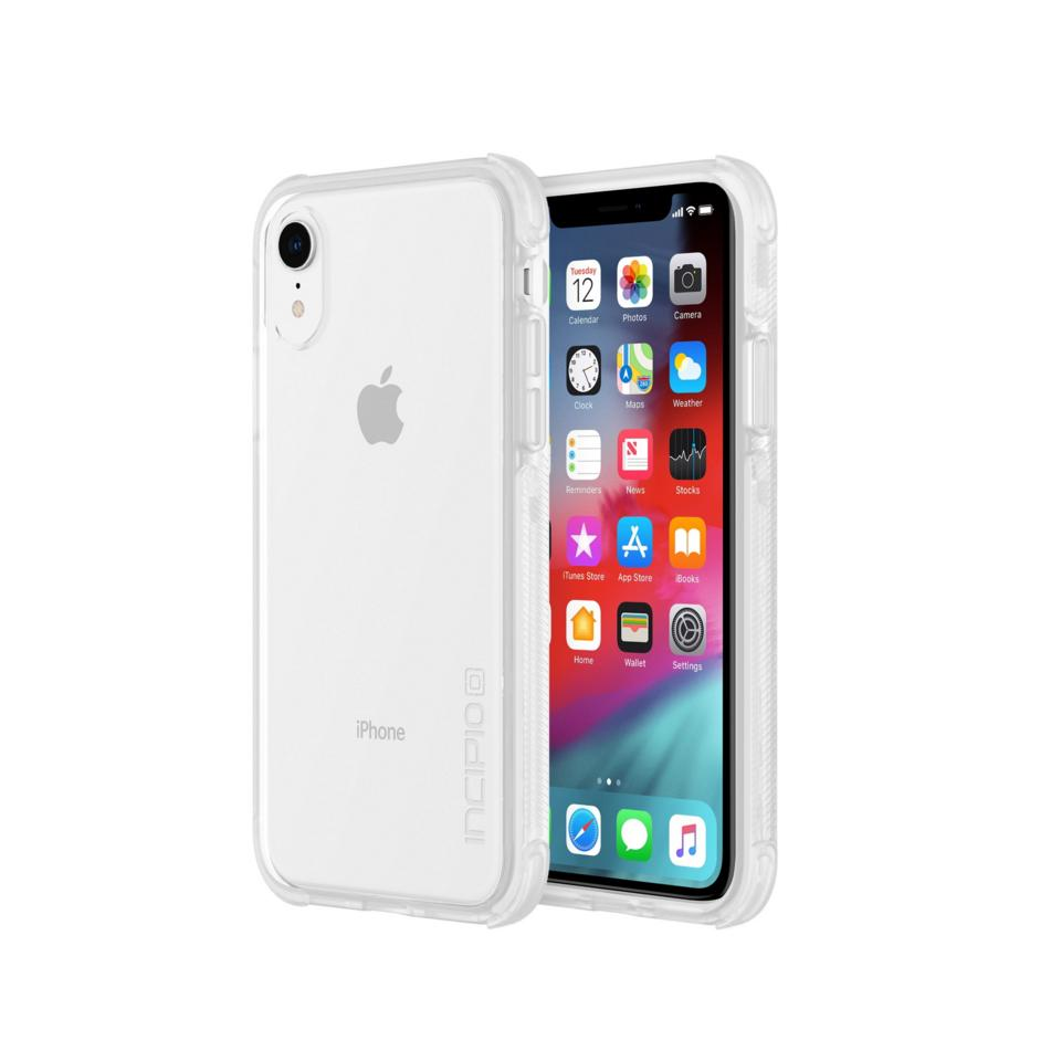 Incipio Reprieve Case - удароустойчив хибриден кейс за iPhone XR (прозрачен)