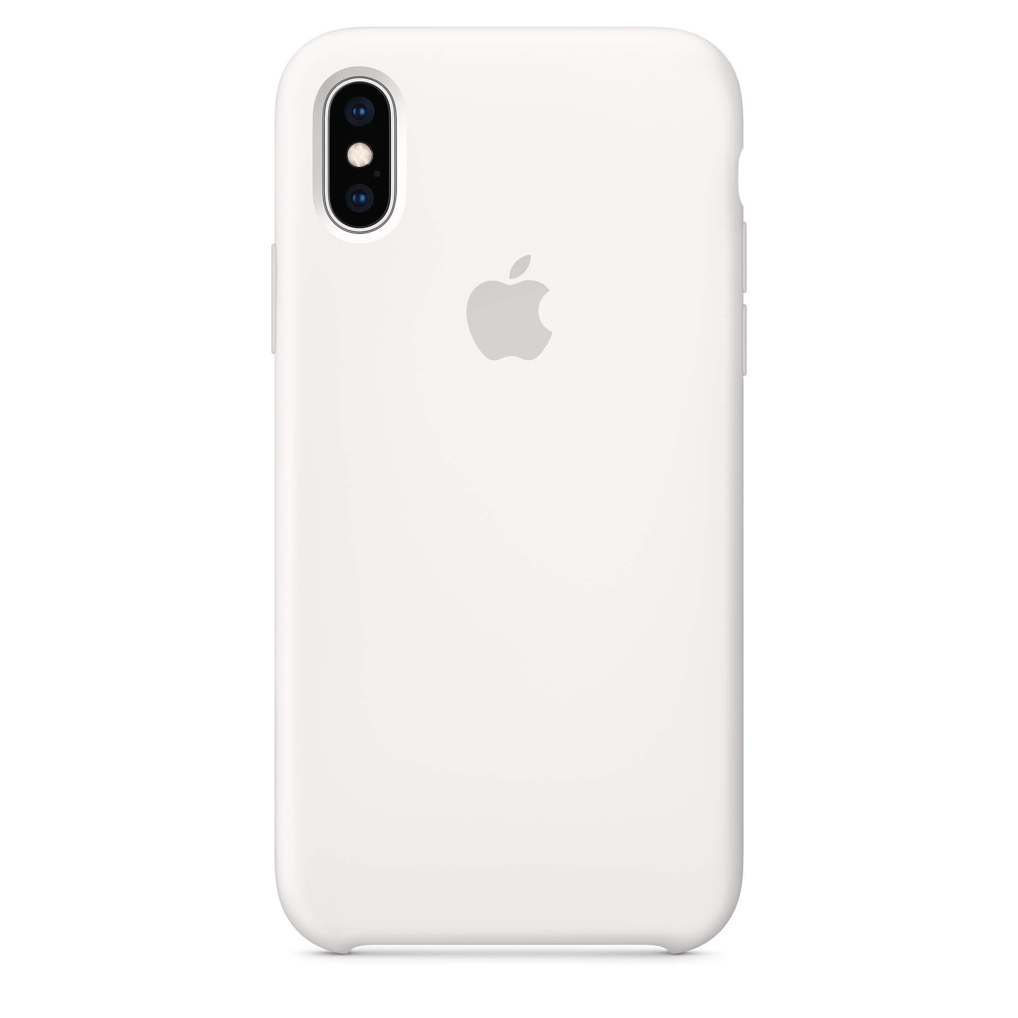 9decbf15a87127 Apple Silicone Case for iPhone XS (white) ...