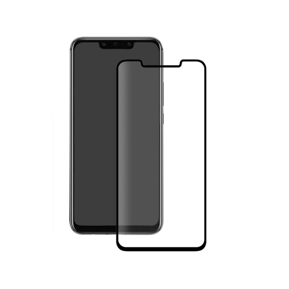 Eiger 3D Glass Full Screen Tempered Glass Screen Protector - калено стъклено защитно покритие с извити ръбове за целия дисплей на Huawei Mate 20 Pro (черен-прозрачен)