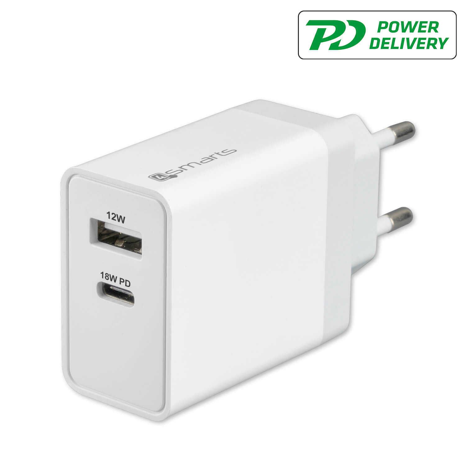 4smarts Wall Charger VoltPlug PD 30W (white)