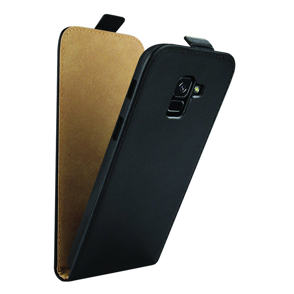 Redneck Prima Flip for Samsung Galaxy A8 (2018) (black)