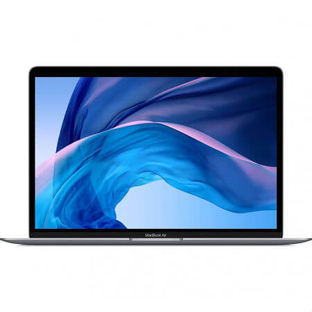 Apple MacBook Air 13 Retina, Touch ID, DC i5 1.6GHz 8GB, 256GB, Intel UHD G 617 (тъмносив) (модел 2018)