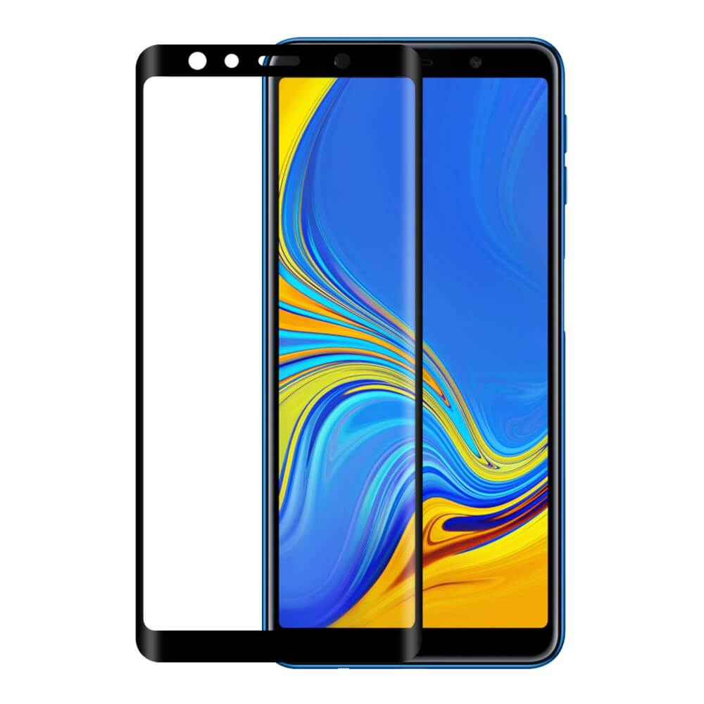 Eiger 3D Glass Edge to Edge Curved Tempered Glass for Samsung Galaxy A7 (2018) (clear)