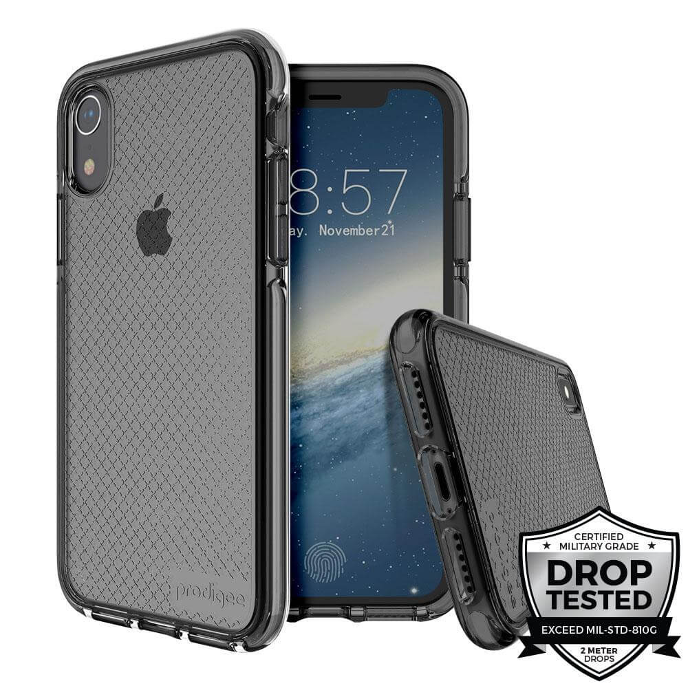 Prodigee Safetee Slim Case for iPhone XS, iPhone X (black)