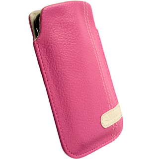 Krusell Gaia Mobile Pouch for iPhone and mobile phones (pink)