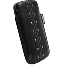 Krusell KALIX mobile pouch кожен калъф за iPhone 4, 3G/3GS (черен)