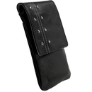 Krusell KALIX mobile case - кожен калъф за iPhone 4, iPhone 3G/3GS (черен)