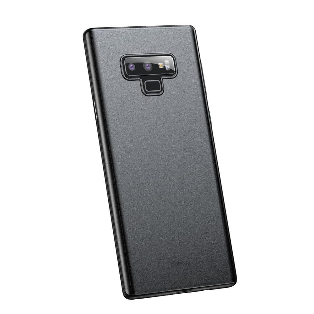 Baseus Wing case - тънък полипропиленов кейс (0.45 mm) за Samsung Galaxy Note 9 (черен)